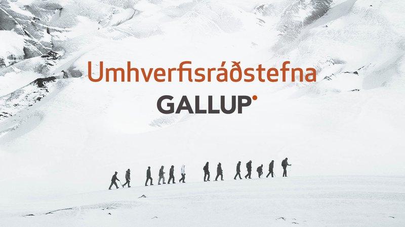 Umhverfisráðstefna Gallup