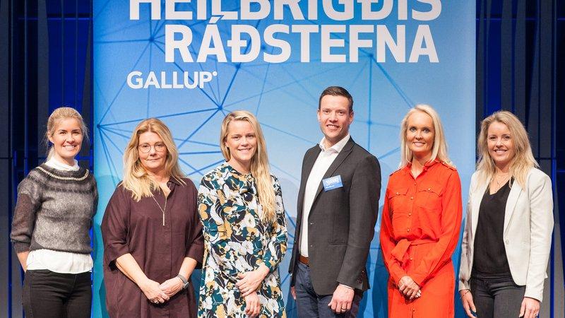 Fyrirlesarar á Heilbrigðisráðstefnu Gallup 2019